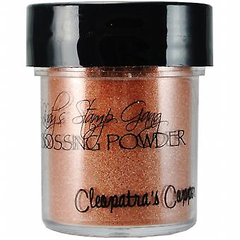 Lindy's Stamp Gang Cleopatra's Copper Embossing Powder