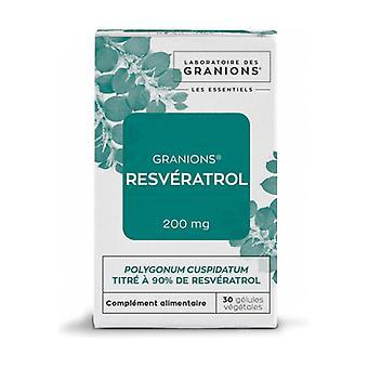 Resveratrol 30 capsules