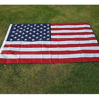 Aerxemrbrae High-quality Double Sided Printed Polyester American Flag