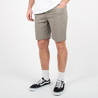 Passenger ridge shorts - nickel grey