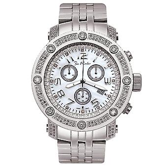 Joe Rodeo Diamond Men's Watch - APOLLO silver 1.7 ctw