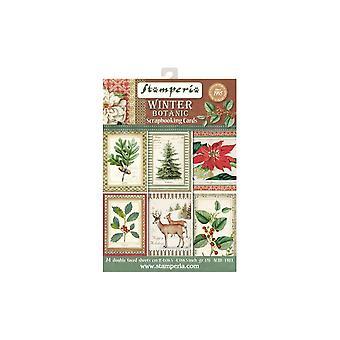 Winter Botanic Scrapbooking Cards (SBBPC06)