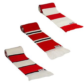 fan originals Retro Football Bar Scarf in Sunderland Colours Red White Black