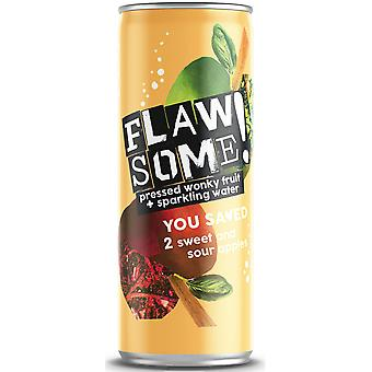 Flawsome Sweet & Sour Lightly Sparkling Juice Drink