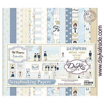 DayKa Trade Mi Primera Comunión Niño 12x12 Inch Paper Pack 2019
