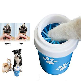 Dog Paw Cleaner Cup Per Piccoli Cani Grandi Cani Pet Washer Portable Pet Cat Dirty Paw Pulizia Cup Soft Silicone Foot Wash Tool