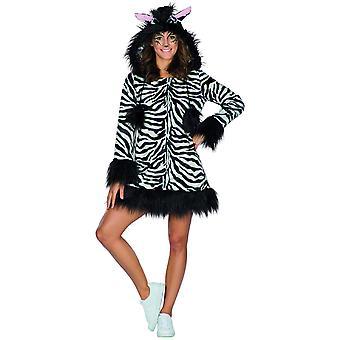 Zèbre dames costume d'animal zèbre costume Afrique