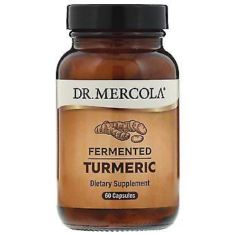 Dr. Mercola, Fermenterad Gurkmeja, 60 Kapslar