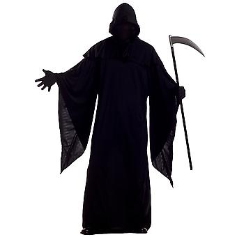 Horror Robe Grim Reaper Evil Ghost Death Halloween Men Costume