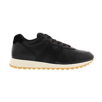 Hogan Seventies Running H Leather Black HXM4290CZ60OEK0039NERO shoe