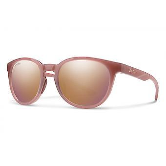 Sonnenbrille Unisex Eastbank    polarisiert beige/rosa/gold