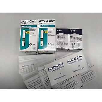 Accu Check Active - Test Strips Pads - Health Care