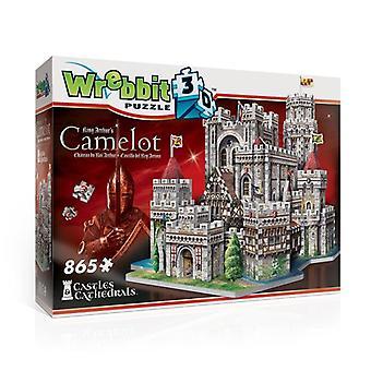 3D puzzle - king arthur's camelot -  865 pieces