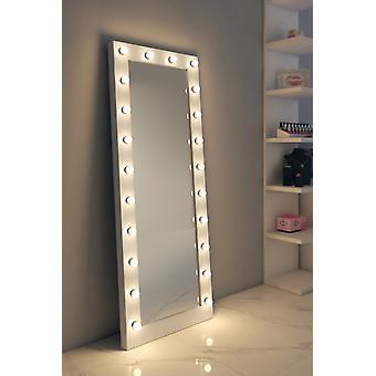 RGB Anastasia hvit glans hollywood speil (høy) k601wwrgb