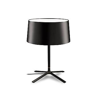 Leds-C4 GROK - 3 Light Table Lamp with Black Fabric Shade, E27