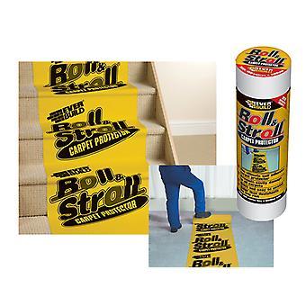 Everbuild Roll & Stroll Premium Carpet Protector 600mm x 25m EVBROLL20