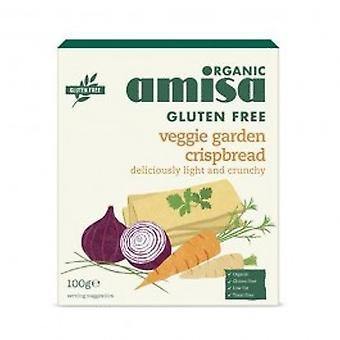 Amisa - GF 野菜クリスプブレッド オーガニック 100 g