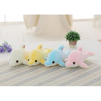Soft Stuffed Plush Glowing Led Light Colorful Stars Cushion Toys
