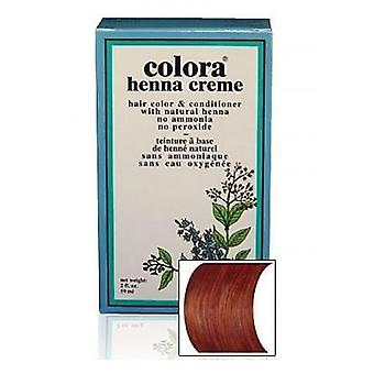 Colora Henna Creme - 100% Organic hair colour - Chestnut