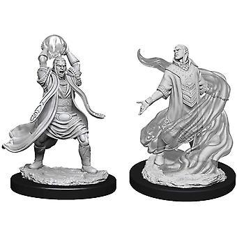 D&D Nolzur's Marvelous Unpainted Miniatures Male Elf Sorcerer (Pack Of 6)