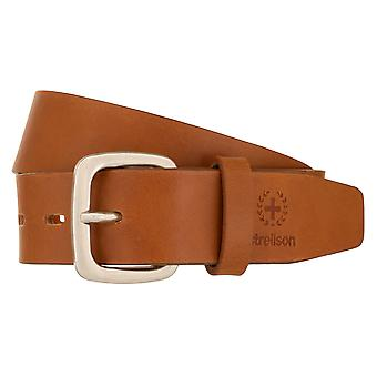 Strellson Belt Men's Belt Leather Belt Cognac 1589