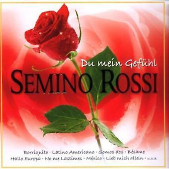 Semino ロッシ - デュ Mein Gefuehl [CD] アメリカ インポートします。