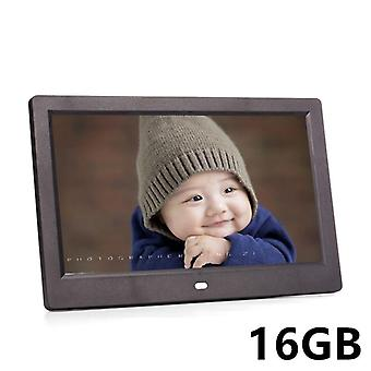 10 Inch Led Screen Digital Photo Frame With Power Adapter And Remote Control (