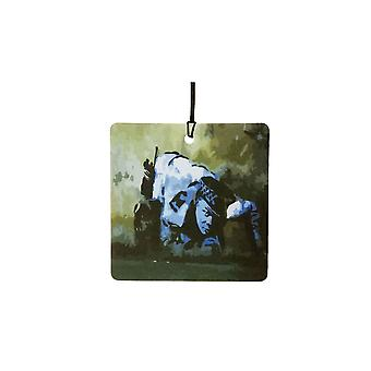 Banksy Coked Up Copper Car Air Freshener