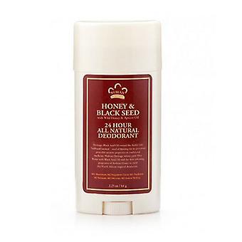 Nubian Heritage Honey & Blackseed Deodorant, 2.25 Oz