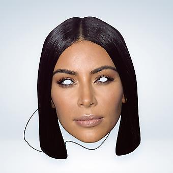 Máscara-arade Kim Kardashian Celebridades Máscara de Cara de Fiesta