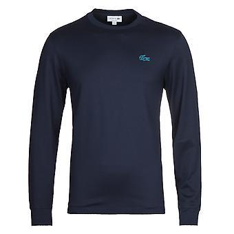 T-shirt Lacoste Homme Navy À manches longues