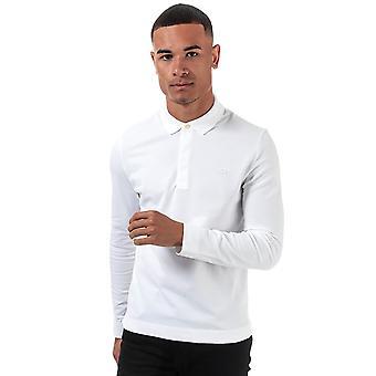 Lacoste mænd's hvide paris polo shirt