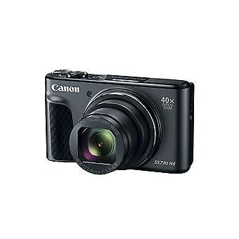 "Canon powershot sx730 digital camera(black) w/40x zoom & 3""tilt lcd - wi-fi,nfc,bluetooth enabled"