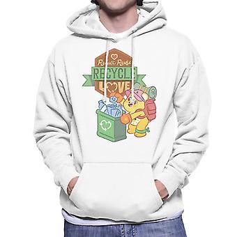 Care Bears Låse Magic Reduce Genbrug Genbrug Love Mænd's Hooded Sweatshirt