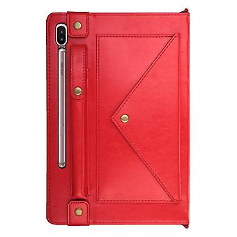 Leather Anti-fall case for Apple iPad 6 / Air2 red