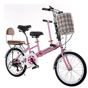 Touring Wagon Travel Bike, Parent-child Bicycle With Travel Bike