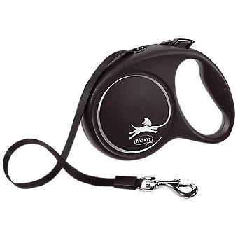 Flexi Correa Flexi Black Design M Cinta (Dogs , Collars, Leads and Harnesses , Leads)