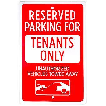 Parkplatz reserviert für Mieter nur Zeichen
