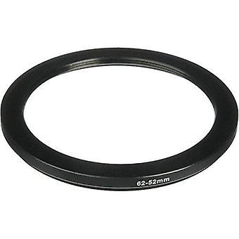 Phot-r® 62-52mm μεταλλικό βήμα-κάτω προσαρμογέα δαχτυλίδι για φίλτρα και φακούς κάμερας 62 - 52 χιλιοστά