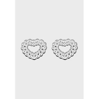 Kalevala Pendientes Círculo Femenino de Plata Ligera 2669483T