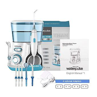 Dental Flosser With 5 Jet Tips For Oral Hygiene And Teeth Cleaner
