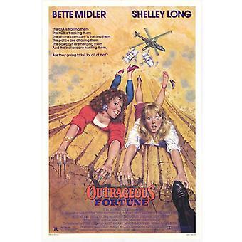 Wütenden Geschicks Movie Poster drucken (27 x 40)