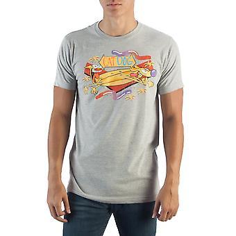 Catdog grey t-shirt