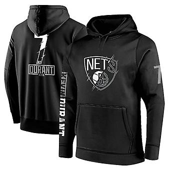 Brooklyn Nets No.7 Kevin Durant Pullover Hoodie Swearshirt Tops 3WY037