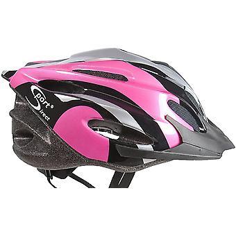 Sport Direct 22 Vent Bicycle Bike Cycle Helmet, Pink 56-58cm CE EN1078 TUV