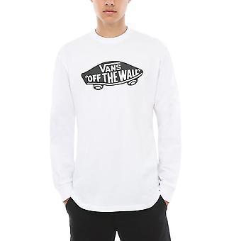 Vans OTW Long Sleeve T-Shirt White Black - XL