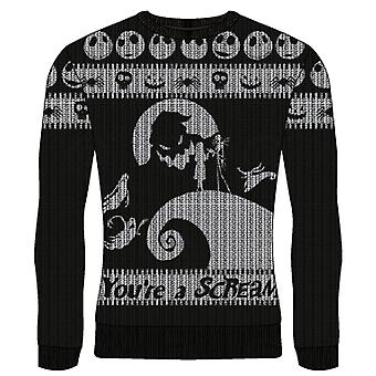 Mareritt før jul - Du're A Scream Unisex Medium Strikket Genser - Flerfarget