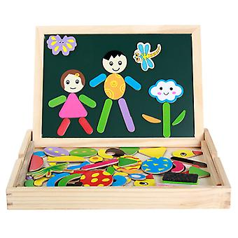 Funny double-sided drawing board