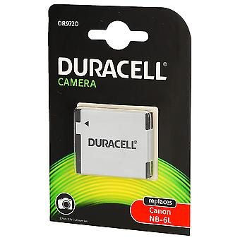 Duracell replacement digital camera battery for canon nb-6l digital camera battery- white 1