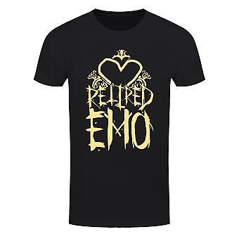 Grindstore Herren Im Ruhestand Emo T-Shirt